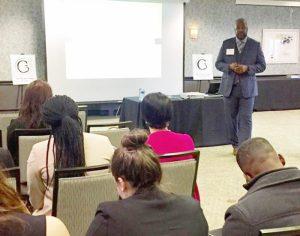 Keynote speaker Albert Jones