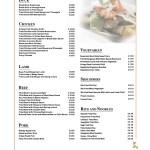 A La Carte Menu B Man S Restaurantman S Restaurant Nottingham S Pre Eminent Chinese Cuisine
