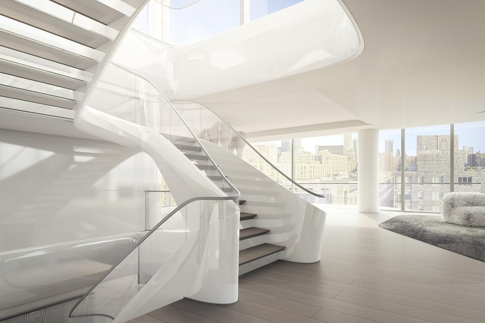 Image result for aha Hadid's Manhattan Condominium