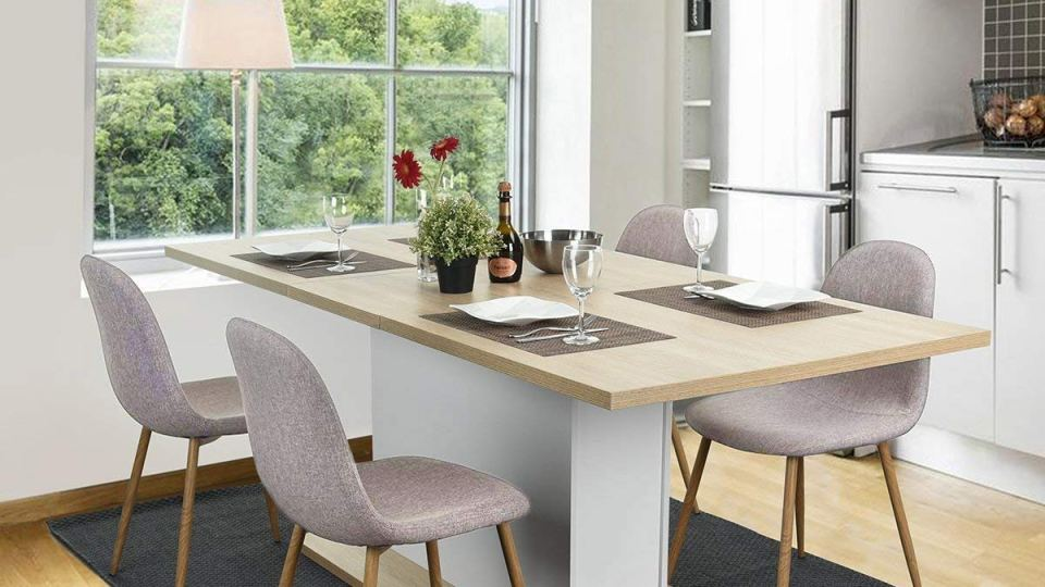 Review] Magshion Side Metal Legs Cushion Seat Back Dining ...