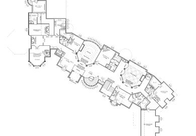25000 Square Foot Home Plans