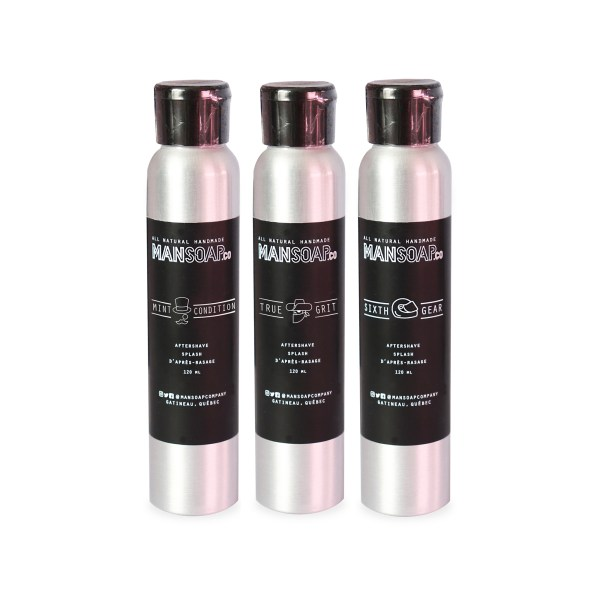 Aftershave Splash | Splash d'après-rasage