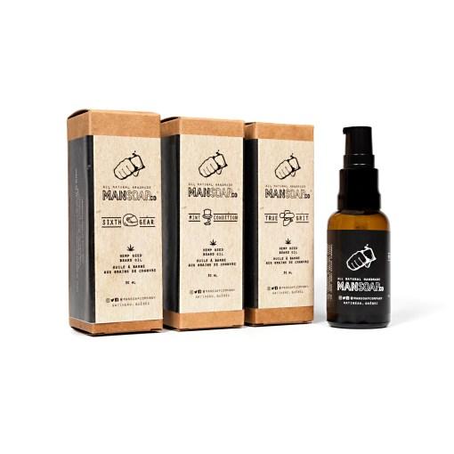 Hemp Seed Beard Oil | Huile à barbe aux grains de chanvre