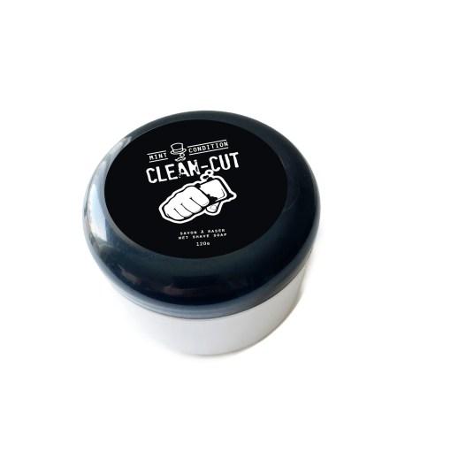 ManSoap Clean-Cut Wet Shave Soap