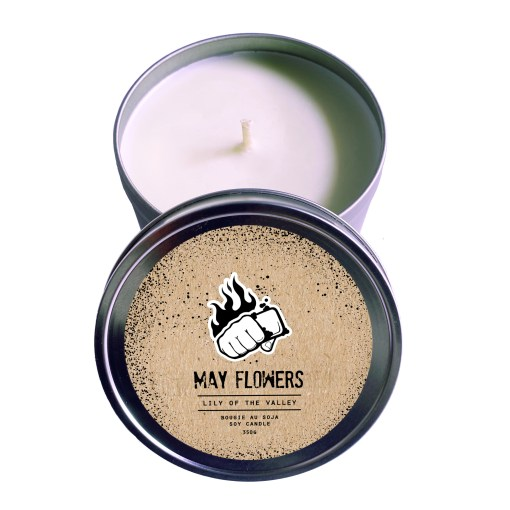 May Flowers Candle | Bougie