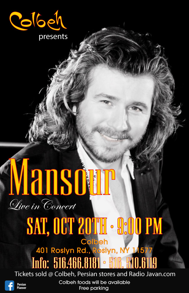 Mansour Live in Concert at Colbeh