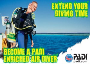 PADI Enriched Air Nitrox Course