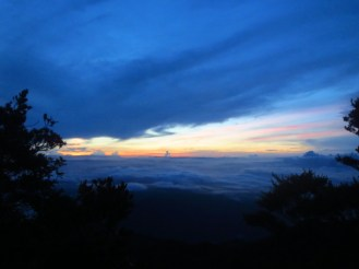 Summit Morning; a rare view of a Tahan Sunrise