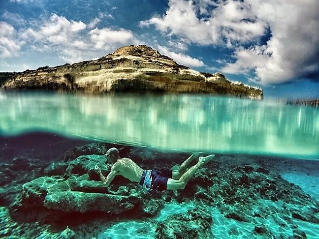 underwater wonders of nusa lembongan snorkeling