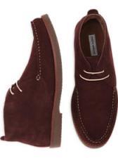 Joseph Abboud Burgundy Chukka Boots