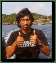 Meet MantaWatch intern Muhammad Ichsan