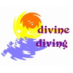 divine diving logo