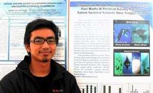Ichsan presents his thesis