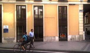 Cierre de la tienda Gothic en los aledaños de la Plaza Mayor de Valladolid