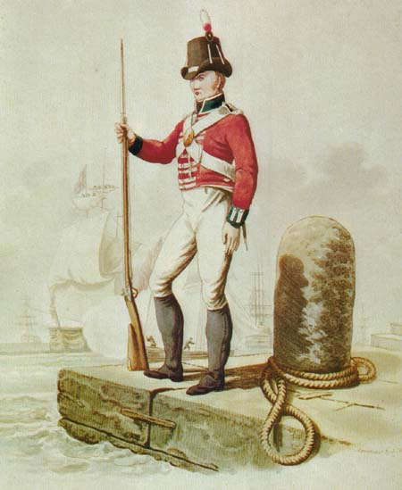 Royal Marine 1815