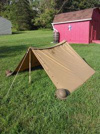 Half Shelter Tent & Trekking Pole Tent Ultralight ...