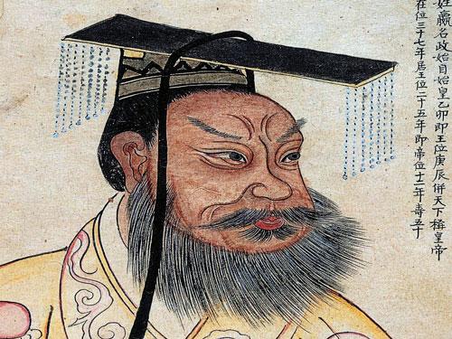 تشين شي هوانغ أول إمبراطور للصين