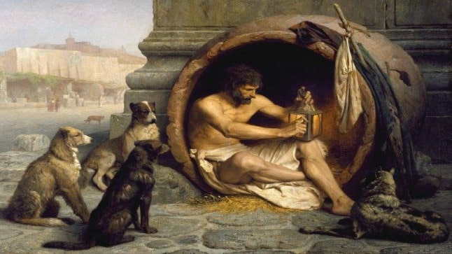 الفلسفة الكلبية؛ حل المعاناة عن طريق تدمير الكون وانقراض الإنسان