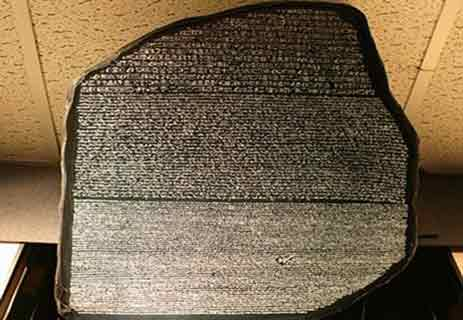 حروف اللغة الهيروغليفية