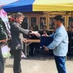 First handshake in Korea