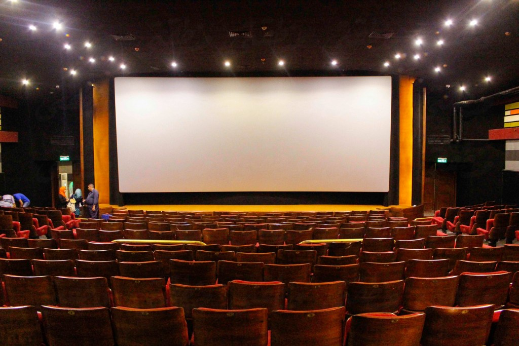 قاعة سينما كريم - تصوير: صديق البخشونجي