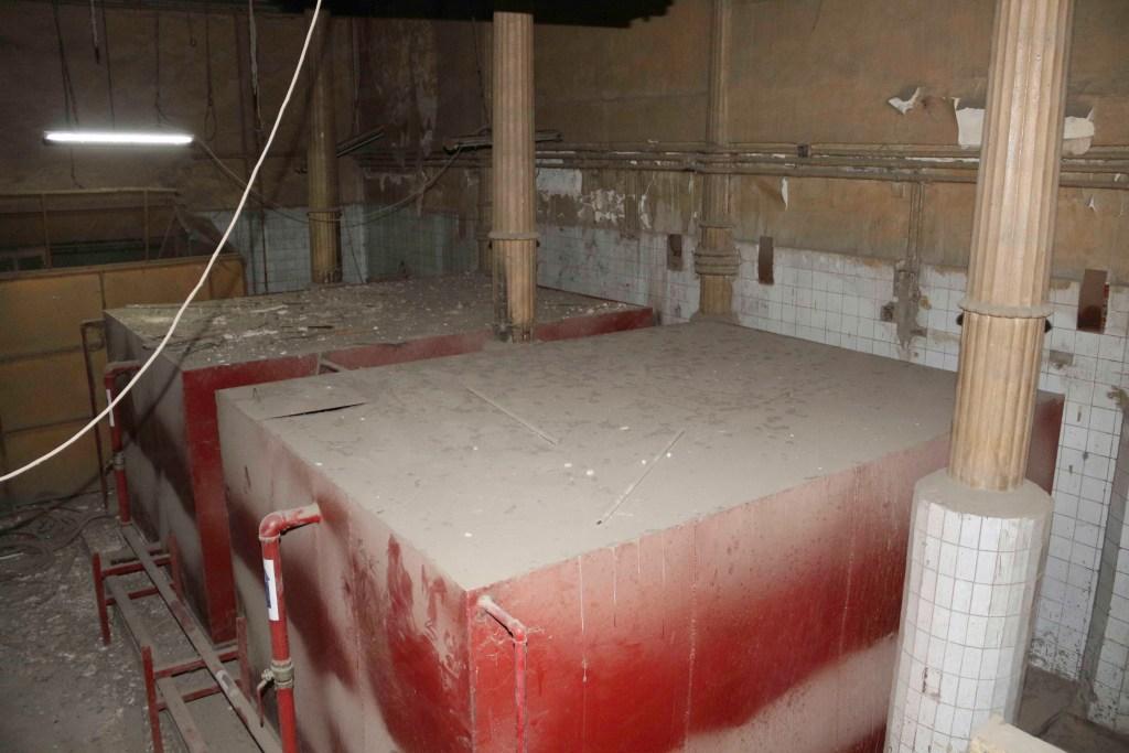 حجرة الغسيل بفندق الكونتننتال- تصوير: صديق البخشونجي