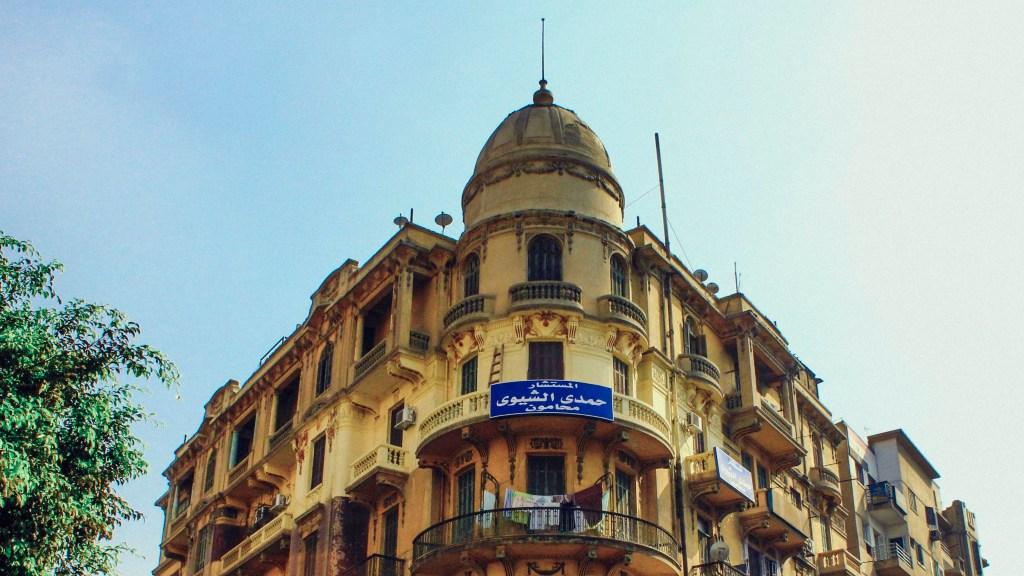 العقار 1 شارع مظلوم - تصوير: صديق البخشونجي