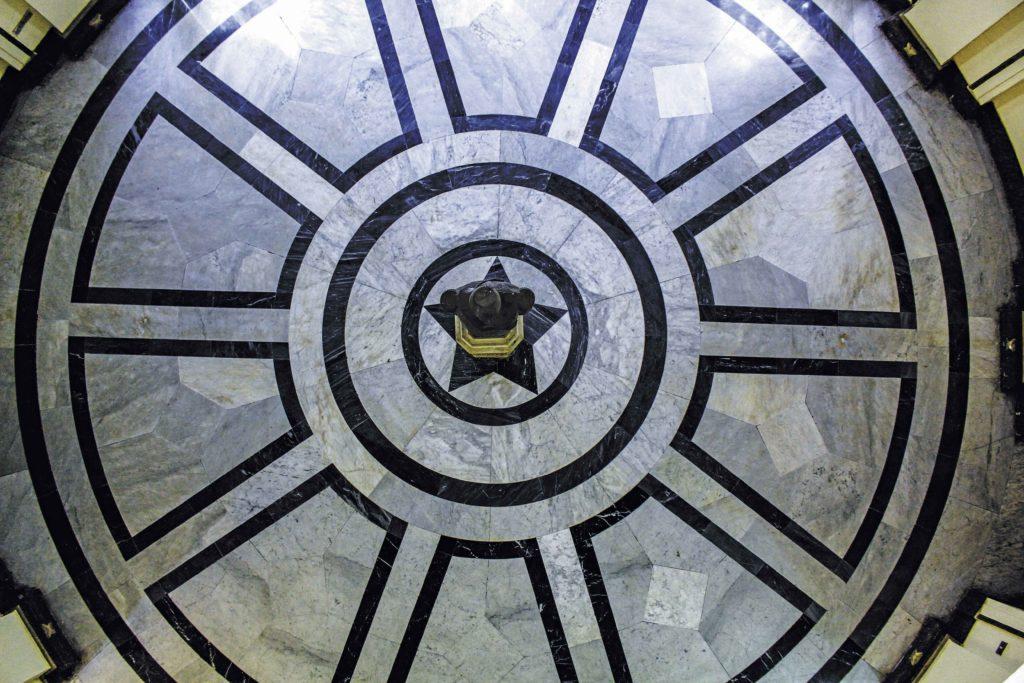 هنا النقطة المركزية لمدينة القاهرة