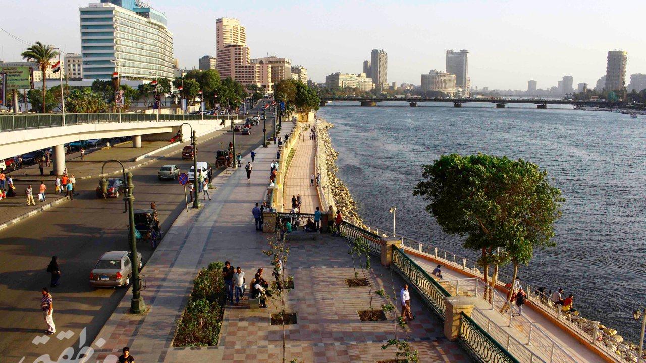 ممشى كورنيش النيل - تصوير: صديق البخشونجي