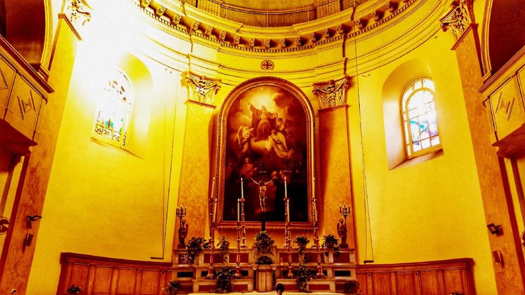 كنيسة انتقال العذراء - تصوير - ميشيل حنا
