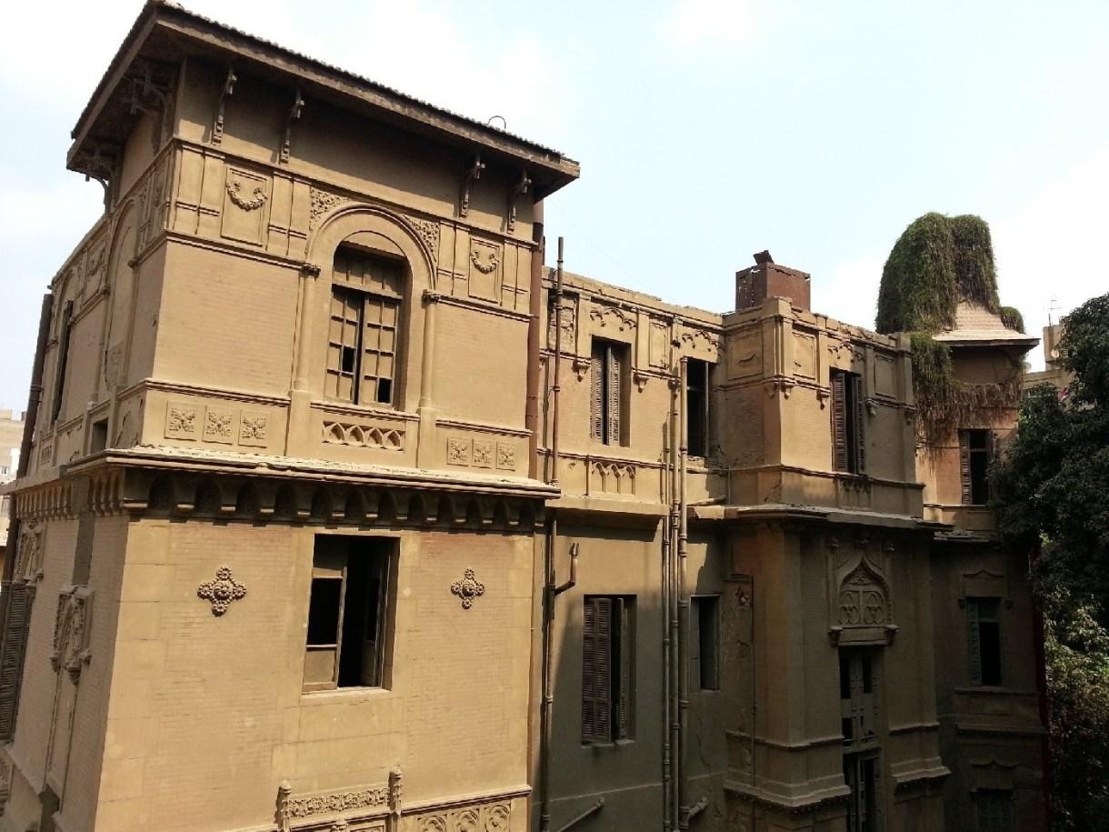 قصر قديم مهجور بالزمالك- تصوير: ميشيل حنا