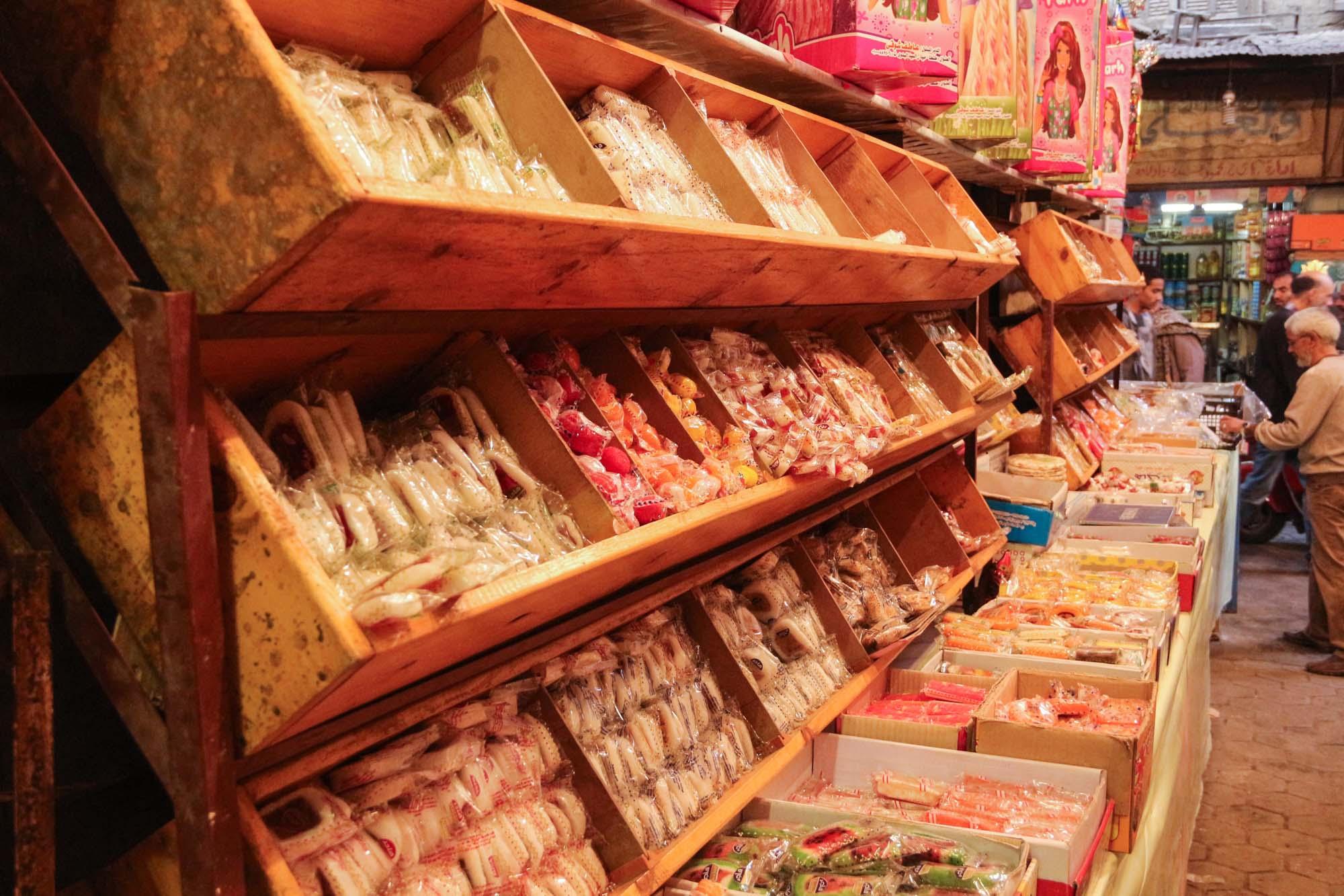 حلوى المولد في باب البحر -تصوير: صديق البخشونجي