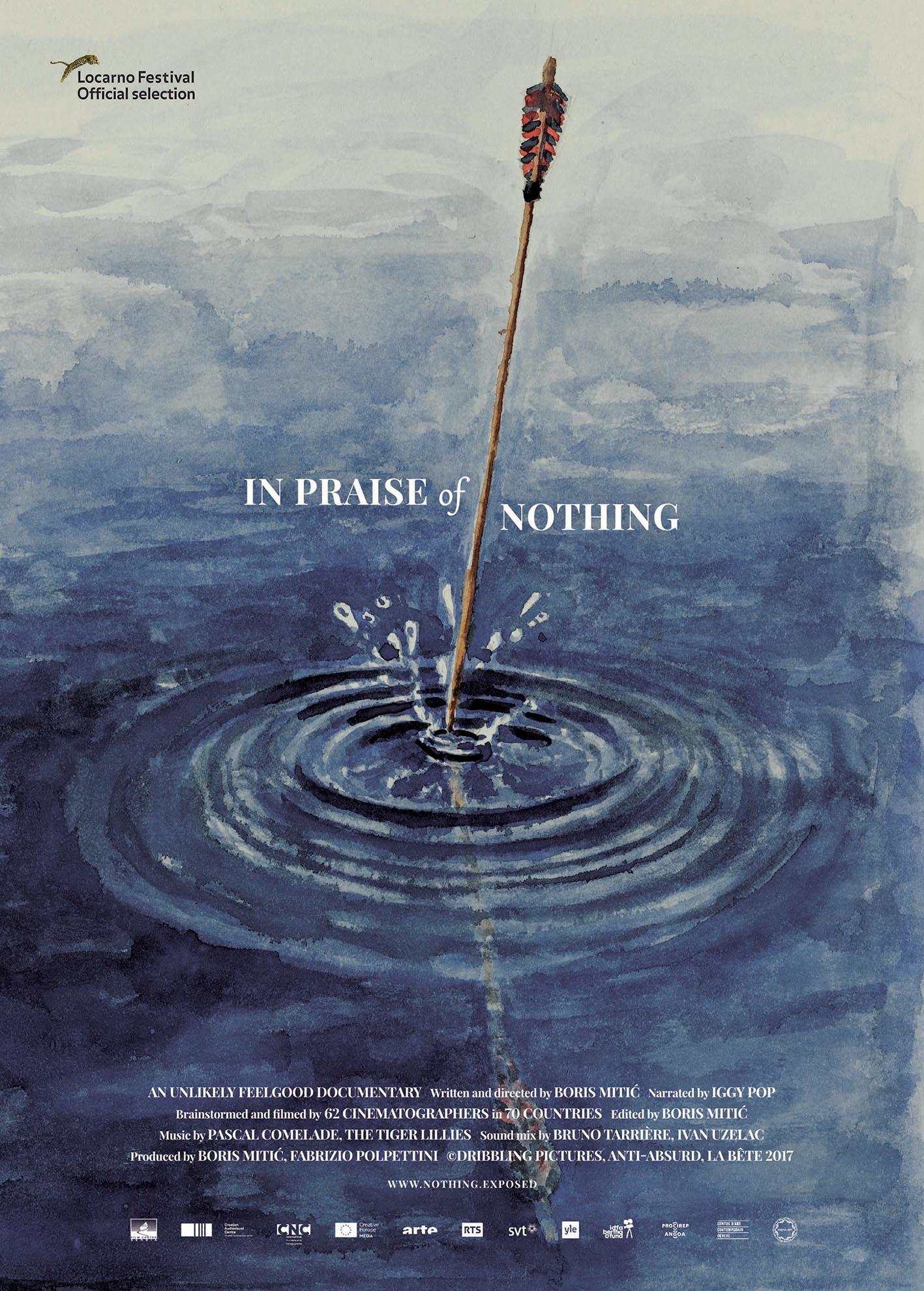 بوستر فيلم في مدح لاشيء - إخراج: بوريس ميتيتش - مدة العرض: ٧٨ ق