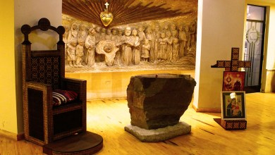 جانب من الطابق الأرضي للكنيسة كوردي ييزو