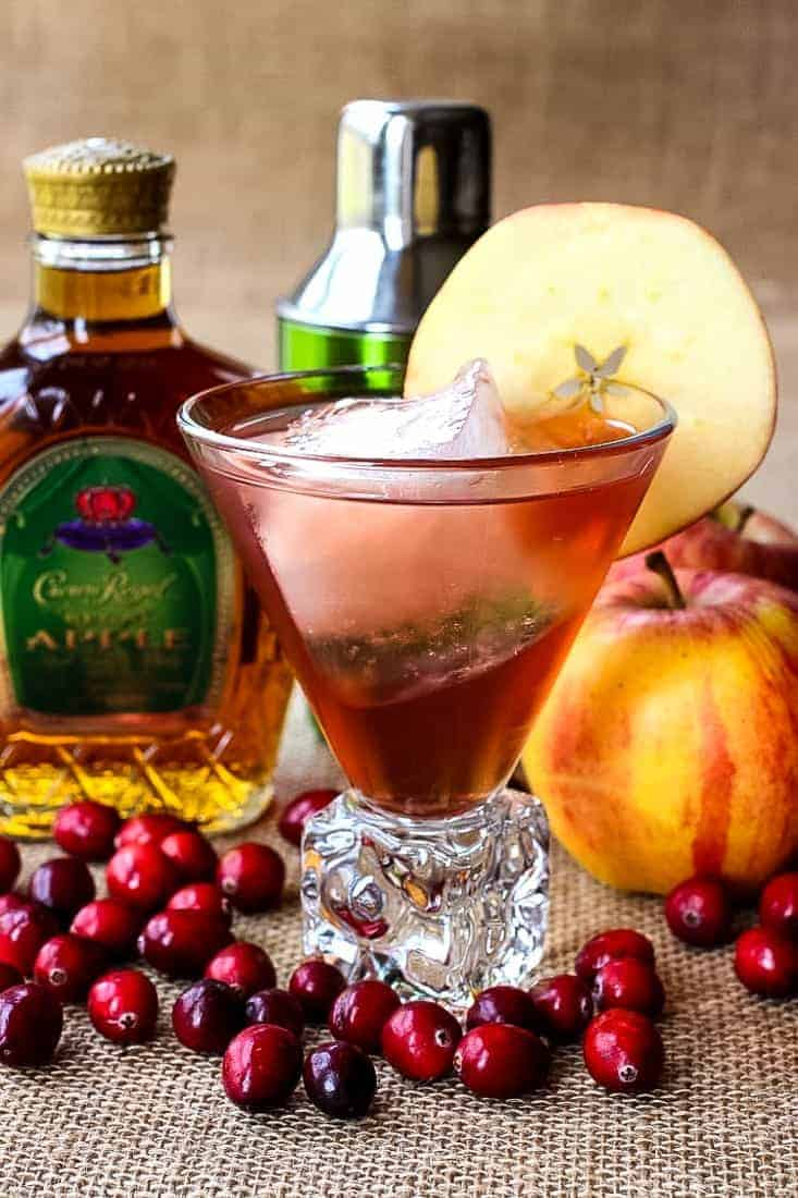 Drinks Made With Crown Apple : drinks, crown, apple, Crown, Apple, Cocktail, Recipe, Royal, Whisky, Drink