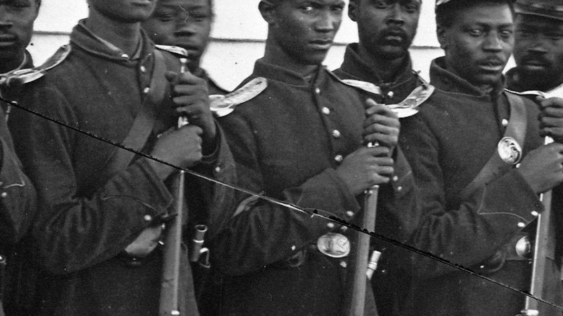 بفضل مناضل.. شارك ذوو الأصول الإفريقية بالحرب الأهلية الأميركية WWW.MANTOWF.COM