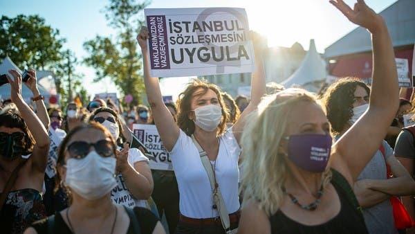 """2020 شهد مقتل امرأة كل يوم.. """"العنف ضد التركيات بلغ أقصاه"""" WWW.MANTOWF.COM"""