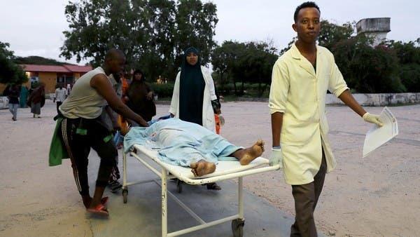 """الصومال.. مقتل 12 من أفراد الأمن بانفجار تبنته """"الشباب"""" WWW.MANTOWF.COM"""