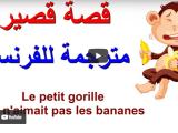 قصة فرنسية كتابة وفيديو فرنسي عربي