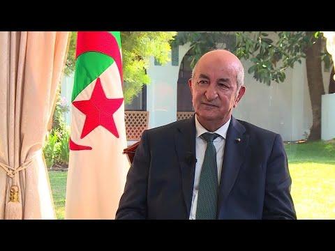 الرئيس الجزائري عبد المجيد تبون: مع الرئيس ماكرون يجب علينا أن نجابه إشكالية الذاكرة