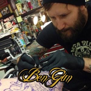 Custom tattoo artist