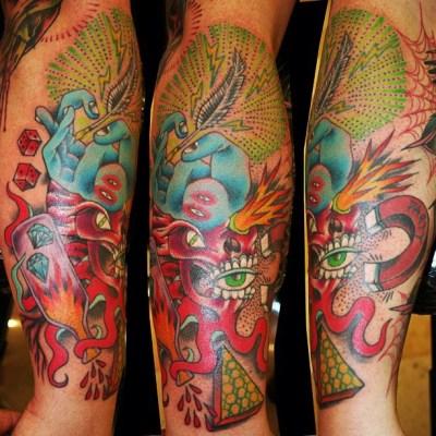 Ben Gun tattoos_095