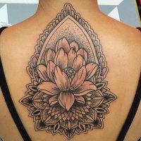Black & gray tattoo