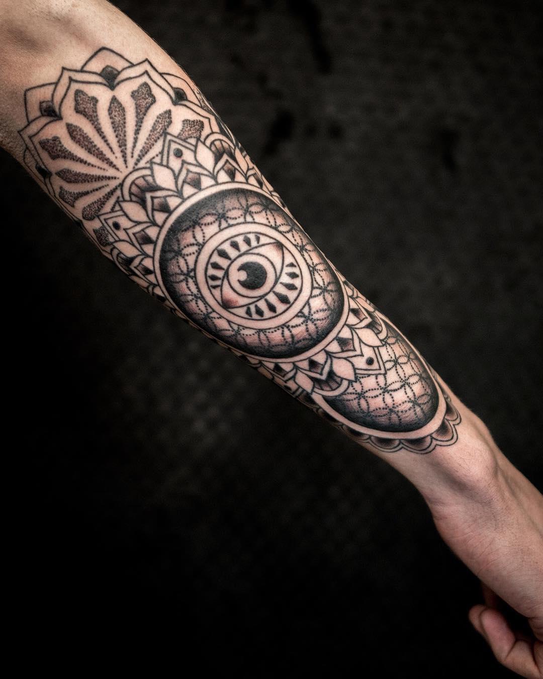 Geometric Tattoo Artists : geometric, tattoo, artists, Sacred, Geometry, Tattoos, Tattoo, Piercing, Artists, Denver