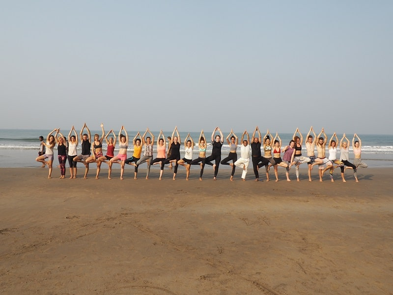 Mantra Yoga School Goa India - Yoga Teacher Training India