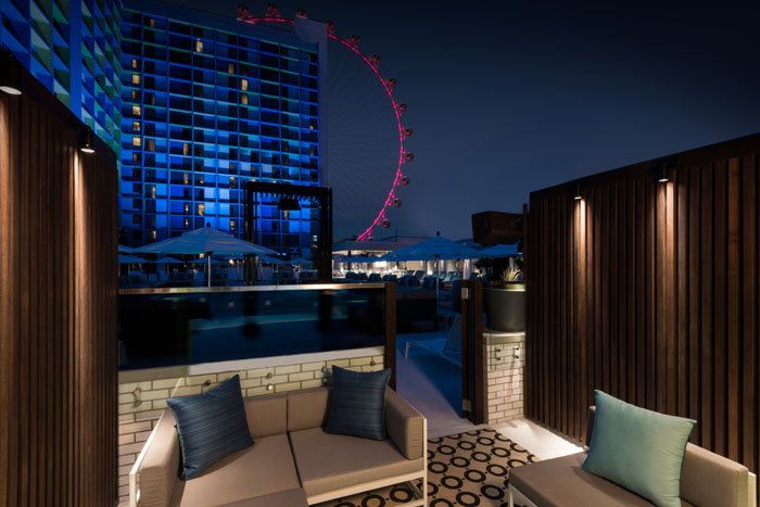 The LINQ Hotel  Casino Has an Awesome Pool on the Las