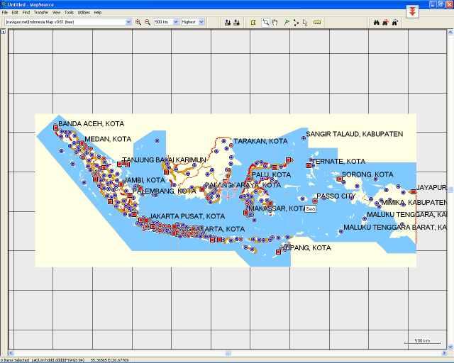Instal Mapsource Meski Tanpa CD Original (6/6)