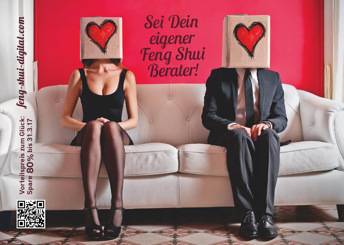 Postkartenmotiv 1 – Feng Shui Onlinekurs (Idee, Gestaltung, Werbetext)
