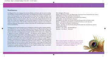 CD-Booklet, Seite 2+3 // Endformat gefaltet (Konzeption + Layout 2011)