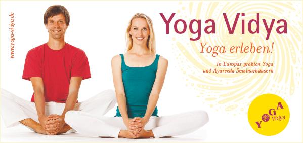 Image-Flyer »Yoga Vidya e.V.« (Prototyp)